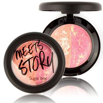 Sugarbox Baked Makeup Blush Palette Cream Baked Blush Blusher