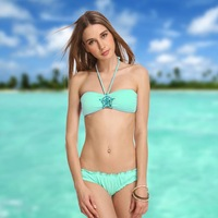 New explosion models sexy women bikini Star Crystal Diamond Bra Bikini Swimwear free shipping 363-015-098