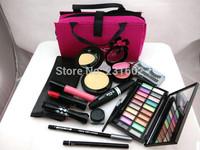 Brand mc m Professional Makeup Travel Case Kit - Make Up Cosmetics Gift Set 13Pcs