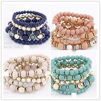 2014 Fashion Joker Western Style Multi Stretch bracelets & bangles Fashion Jewelry wholesale Free shipping!!