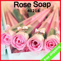 FREE SHIPPING Soap Flower Rose Carnation Birthday Teachers' Mothers' Day Romantic Valentines Bath Wedding Gift 30pcs/lot 40214