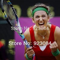 juice 100 tennis racket Victoria Azarenka carbon fiber racquete/racquets string tennis grip size: 4 1/4 4 3/8