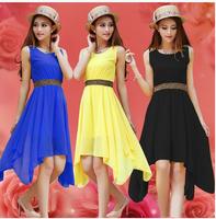 Drop ship Chiffon dress,Autumn dress 2014 fashion maxi dresses winter mint green casual dress women, large size S M L, XL ,XXXL