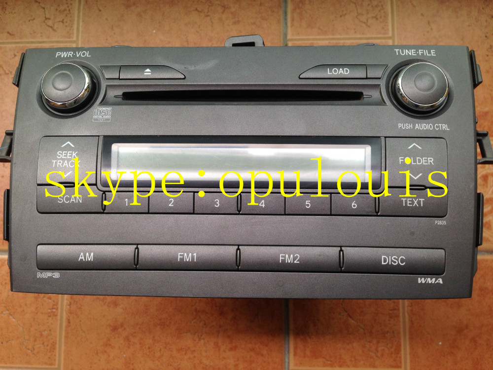 Toyota Corolla paineer DEH-MG8077 6 CD changer MP3 WMA Tuner AM/FM car radio audio(China (Mainland))