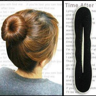 Accessoire de cheveux populaire éponge cheveux étiqueteuse. pratique complice de cheveux en gros livraison gratuite