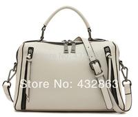 Women Genuine Leather Crossbody Handbags 100% Genuine Cowhide Leather Handbags Black Free Shipping B-045