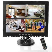TV TFT flat panel Display Lcd Monitor 12 inch Av/hdmi/bnc/Vga Input Screen New