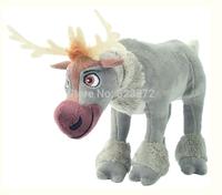 Free Shipping New 2014 Original FROZEN Plush Toy Sven Plush Reindeer Stuffed Animals 18cm Boneca Frozen Toys for Children