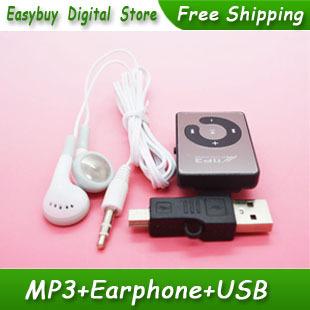 MP3-плеер NewBrand 10pcs/lot /mp3/micro SD/TF & USB M001 mp3 плеер usb mp3 usb sd tf hitm 42088