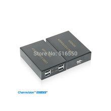 Eu204p, Usb HUB удлинитель с 4 разъём(ов), Usb 2.0 удлинитель совместим с usb, Usb расширить по UTP категории Cat6 кабель