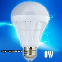Led Lamp E27 B22 E14 220V 9w 2835SMD Led Bulb White Warm White Energy Saving Led Light 1Pcs only Free shipping