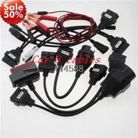 For autocom cdp diagnostic car cables OBD 2 Cable autocom cdp pro cars Car 8 Cables cdp pro plus diagnostic tool  cables