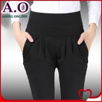 Free shipping New 2014 spring summer candy color pants plus size women harem pants sexy casual trousers S-XXXL