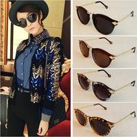 1Pcs Newest Round Sunglasses Metal Frame Arrow Style Eyewear Women's Unisex Mens Sunglasses
