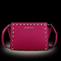 new summer bag 2014 vintage rivets Cross stripe cowhide leather small handbag