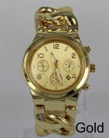 New Arrival Quartz Watch Gold/Rose Gold Round metal watches with Calendar for Men / Women classic wristwatch +logo Drop Shipping