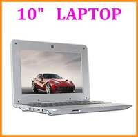"""Cheap 10"""" Laptop Notebook Google Android 4.4 OS Dual Core VIA 8880 cpu with WIFI USB HDMI RJ45 port HD Webcam computer"""