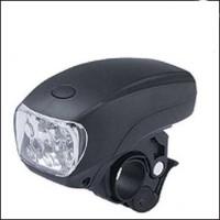 Retail 1pcs Cycling Bike 3 modes Super Bright 5 LED Front Head Light flashlight CL32