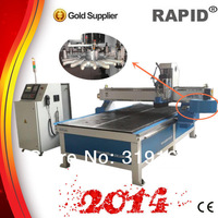sell ATC carousel tool changer 1325 wood cnc router machine