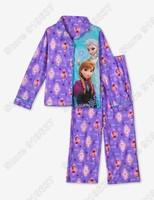 New Arrival 2015Frozen Elsa&Anna Pajama Set Princess Clothing Sets Kids Clothing Snow Queen Children Nightie/Pyjamas
