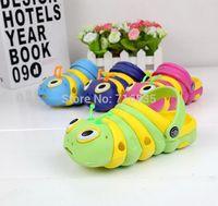 Kids Garden Hole Shoes Summer Children baby Caterpillar mules clogs eva slides slippers Flip Flops for boys girls 0-6yrs