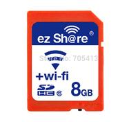 ez-Share WIFI SHARE SD Card 8GB CLASS 10 SDHC FLASH MEMORY sd CARD 8 GB EYE FI