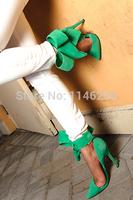 Новые прибыл удивительные колено высокие гладиатор сандалии в золоте с задней молнии Закрытие колено высокие греческие сандалии