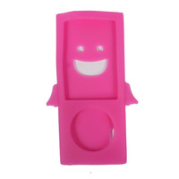 Fashional Angel Design Silicone Case for Ipod Nano 5 Protective Skin Cover for Ipod 5th  Free Shipping