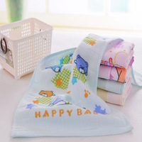 5pcs/Lot Super Soft 100% Cotton Yarn Baby's Scarf Baby's Towel 25*50CM  30g