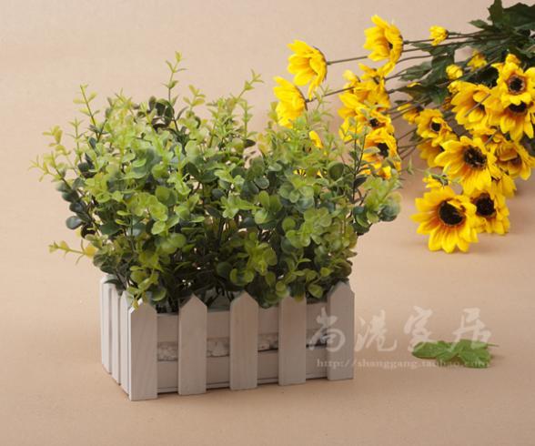 Laranja rústico dot set flor artificial flor de seda de café windowsillxia rústico(China (Mainland))