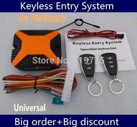wholesale price 2014 Universal Car Remote Central Lock Locking Keyless Entry System