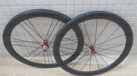 G3 wheels 700C 50mm clincher/tubular wheelset with Chosen/powerway carbon hub for road bike