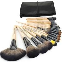 24pcs  Professional  Makeup Brush Set  tools Cosmetics Brush Kits 24 pcs Wool Brand Make Up Brush Sets  face brushes  & tools