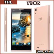 Original THL T100S Iron Man Smartphone Cell Phone MTK6592 Octa Core 2GB RAM+32GB ROM 13.0MP Support NFC ,OTG, Hall IC