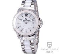 2014 new brand women's wristwatches Pagani Design fashion women's quartz wristwatches casual waterproof ceramic watches(CX-2555)