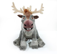 Free Shipping Frozen plush toys Sven plush the Reindeer Stuffed Animals toys 16cm Frozen princess dolls for girls