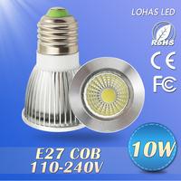 1PCS LED COB spotlight 7w/10w/15w led cob  E27 led lamps 110/120V220v led light  dimmable warm/cool white led bulb