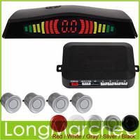 High Quality & Easy Installation Intelligent Digital LED Car Parking Sensor System with 4 Sensors