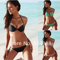 Beach wear sexy women biquini brazil bikini bandage bra push up swimsuit bathing suit