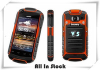 Factory Unlocked , Discovery V5 GOOD Quality phone Android 2.3.5 capacitives Dustproof Shockproof WIFI Dual camera mobile phone