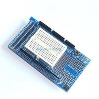 5pcs/lot Brand New Prototype Shield Protoshield V3 Expansion Board with Mini Bread Board for Arduino MEGA Blue + White