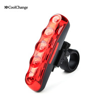 HOT Bicycle Bike 5LED Taillight Outdoor Mountain Biking Road Cycling Equipment Bicycle Warning Lights