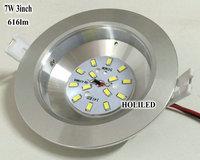 7W LED down light(616lm) led panel light, led lamps