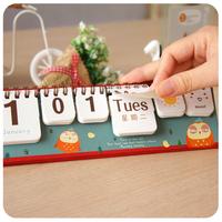 Calendar Lunar calendar week calendar almanac calendar cute little notebook and fresh ideas 8 styles