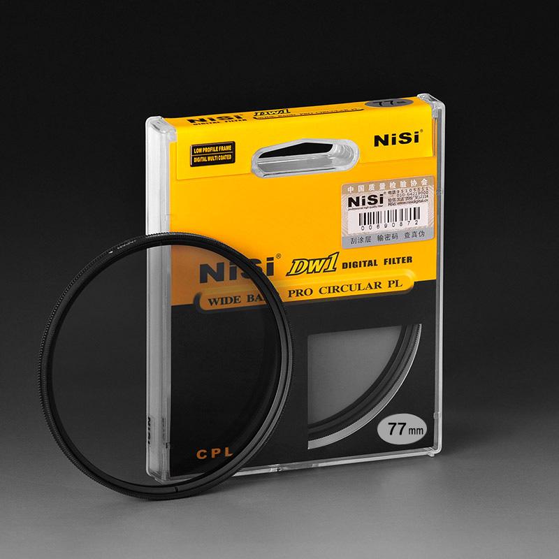 NiSi Dw1 Ultra Thin 77mm CPL Professional Polarizer Filter 77mm Circular Polarizer Filter Free Shipping(China (Mainland))