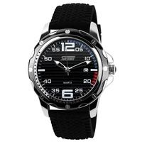 2015 New SKMEI Men Military Quartz Watches Sports Watch Fashion Luxury Brand Complete Calendar Auto Date Waterproofed Wristwatch