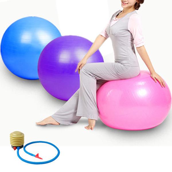 Hot Sale 55CM 3 Colors Anti Burst Yoga/Gym
