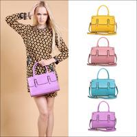 HOT!!! 2014 New Elegant Popular Women's Genuine Leather Candy color Handbag Vintage Fashion Shoulder Small Bag Messenger Bags