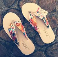 summer flip flops flat-bottomed sandals for women lovers beach slippers flat heel flip-flop women's shoes at the end of foam