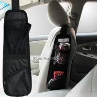 Best Sale Waterproof fabric Car Auto Vehicle Seat Side Back Storage Pocket Backseat Hanging Storage Bags Organizer 6207 B003